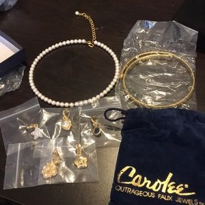 Carolee Necklace Set